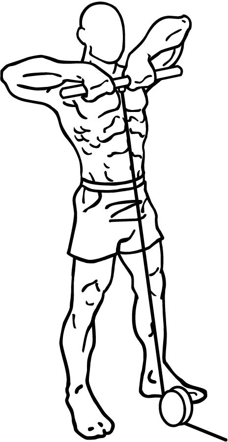 pijnlijke spieren in rug en benen