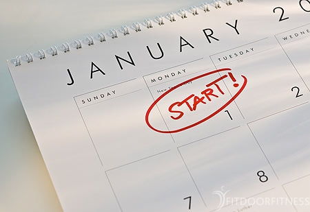 Dagelijkse workout voor 30 dagen (Januari)
